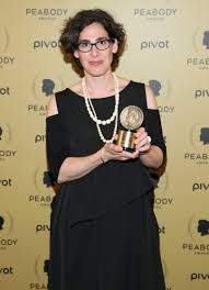 Sarah Koenig in an award function