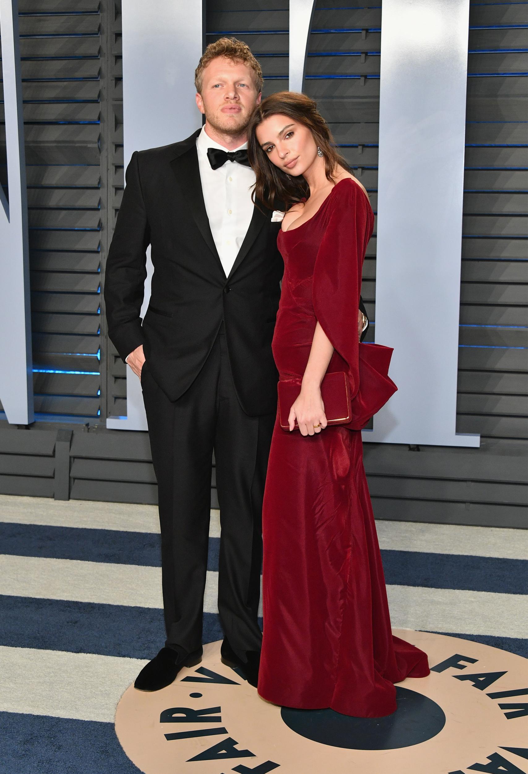 Sebastian Bear-McClard and his beloved wife