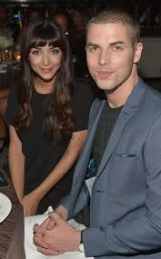 Jesse Giddings with her partner
