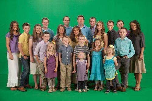 Joseph with his family