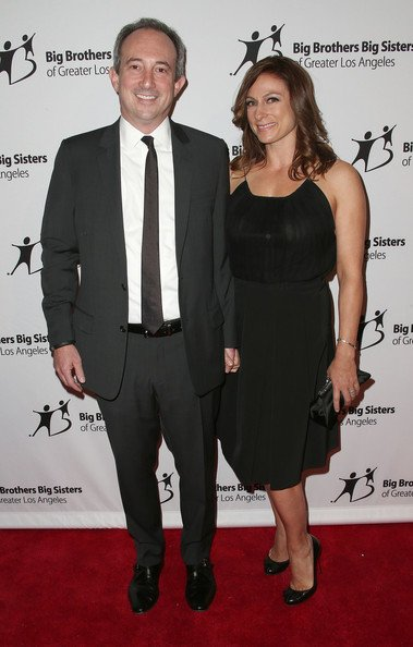 Phyllis Minkoff' daughter and son-in-law