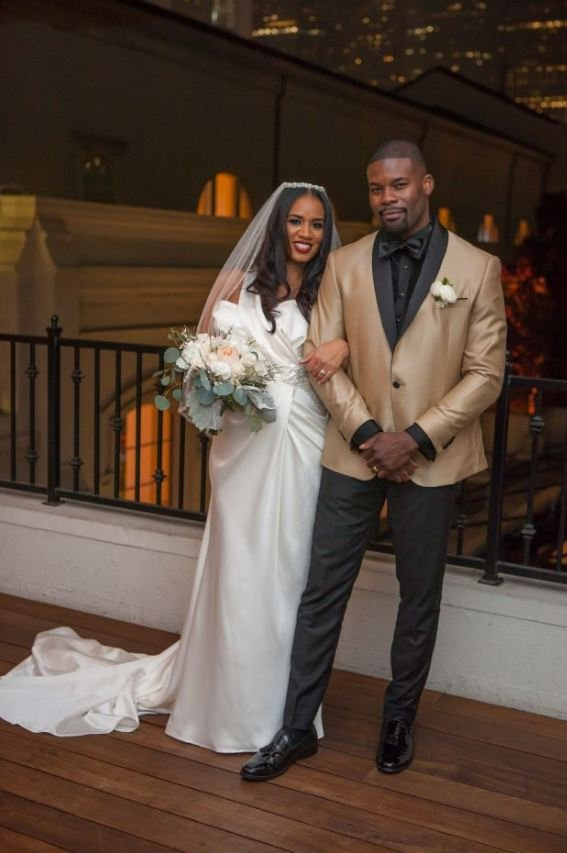 Amin Joseph and his spouse