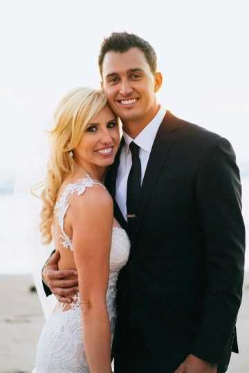Courtney Force and her husband