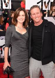 Linden Ashby with his wife