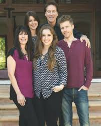 Drake Hogestyn with his family