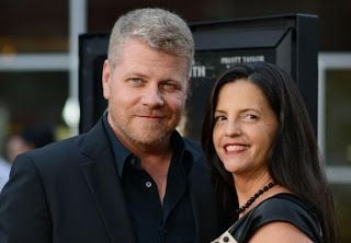Michael Cudlitz with his spouse