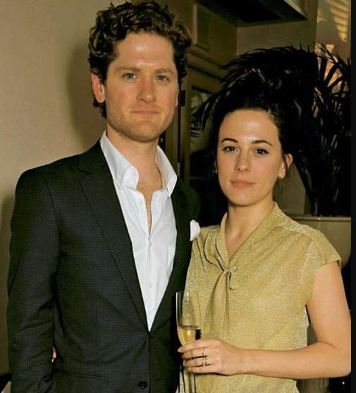 Phoebe Fox and her beloved husband