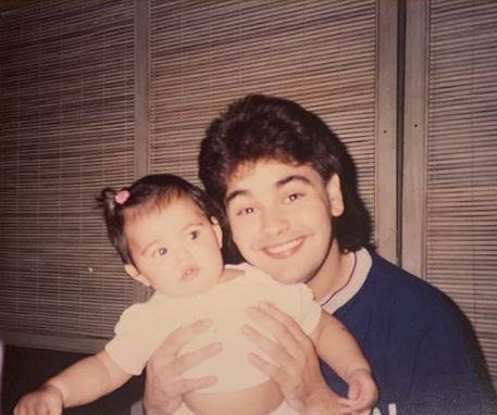 Janine Gutierrez in her childhood days,