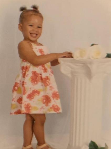 Strom Reid's childhood photo